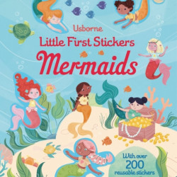 Mermaids little first sticker dressing, usborne