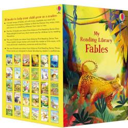 My fables reading library, pachet de 30 fabule, usborne