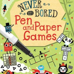 Pen and paper games never get bored, wipe and clean cards