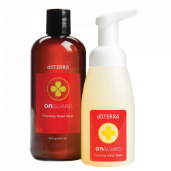 Sapun lichid doterra, foaming hand wash plus dispenser