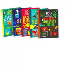 Set de 5 carti 100 Things to Know - Usborne