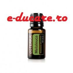 Ulei esential Melaleuca alternifolia (Arbore de ceai), 15 ml, pentru curățarea și purificarea tenului, pielii și a unghiilor, imperfectiuni ale pielii, Doterra