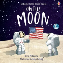 Usborne little board books, on the moon