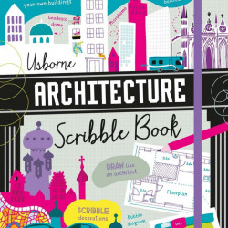 Architecture Scribble Book, usborne, 7+