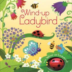 Carte cu jucarie Wind-up ladybird