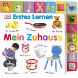Carte in limba germana, primele cuvinte, Erstes Lernen. Mein Zuhause, DK, 12+