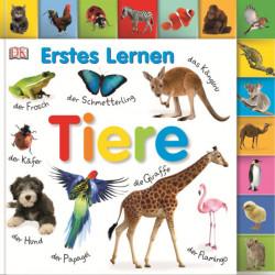 Carte in limba germana, primele cuvinte, Erstes Lernen : Tiere, DK, 12+