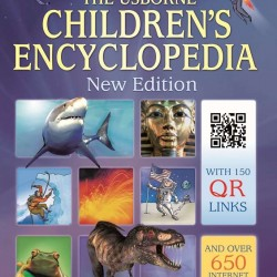 Children's encyclopedia with QR links, coperta cartonata, Usborne