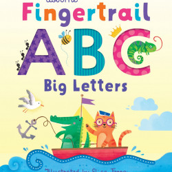 Fingertrail ABC Big Letters, Usborne, 1+