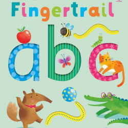 Fingertrail ABC, carte senzorială, usborne
