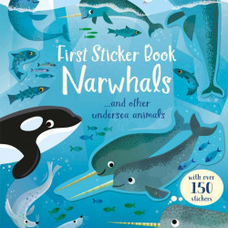First Sticker Book Narwhals, Usborne