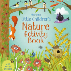 Little children's nature activity book