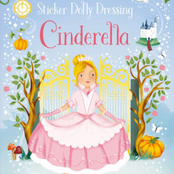 Little Sticker Dolly Dressing Fairytales Cinderella