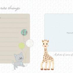 Sophie la girafe Baby Record Book, DK