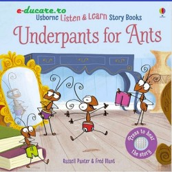 Usborne Listen and learn story book, Underpants for ants