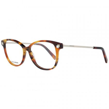 Rame ochelari, dama, Dsquared2, DQ5287 53056, Maro