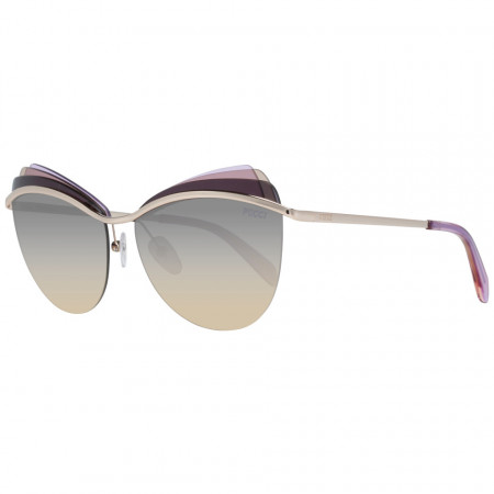 Ochelari de soare, dama, Emilio Pucci, EP0112 5928B, Auriu