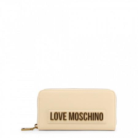 Portofel dama, Love Moschino, JC5622PP1BLK, Bej