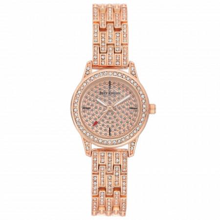 Ceas de dama, Juicy Couture, JC/1144PVRG, Auriu roze