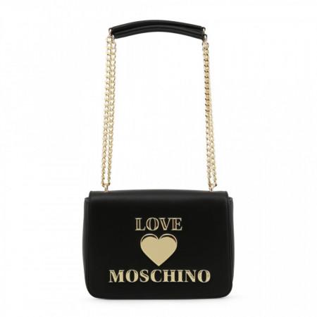 Geanta de umar, dama, Love Moschino, JC4035PP1BLE, Negru