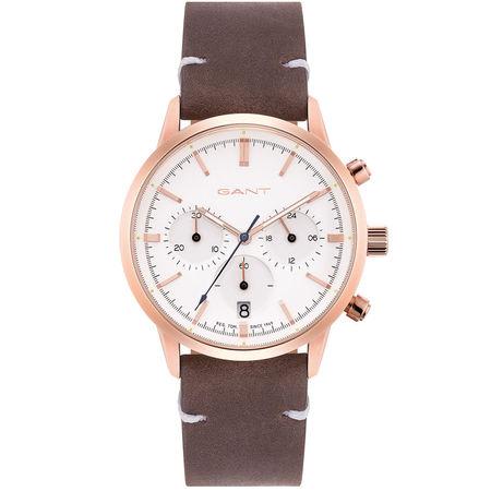 Ceas cronograf dama, Gant, GTAD08200199I, Auriu Roze