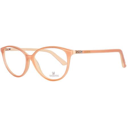 Rame ochelari, dama, Swarovski, SK5136 53044, Portocaliu
