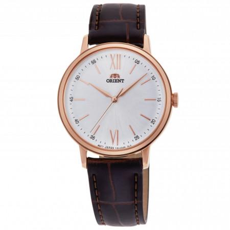 Ceas de dama Orient, RA-QC1704S10B, Auriu roze