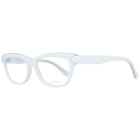 Rame ochelari, dama, Balenciaga, BA5025-53_022, Alb