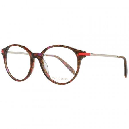 Rame ochelari dama, Emilio Pucci, EP5105 52054, Maro