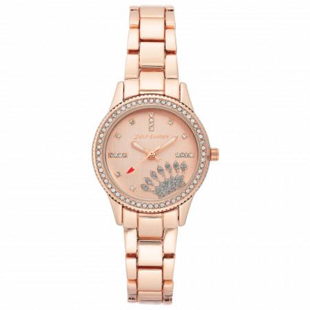 Ceas de dama, Juicy Couture, JC/1110RGRG, Auriu roze