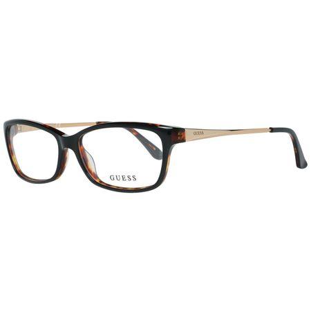 Rame ochelari, dama, Guess, GU2635 54001, Negru