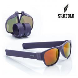 Ochelari de soare pliabili unisex SunFold, ES1, Violet