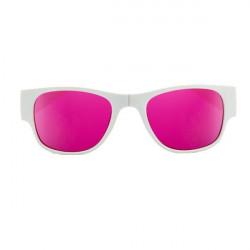 Ochelari de soare pliabili unisex SunFold, TR4, Alb