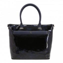 Geanta shopper, dama, Trussardi, PAPRICA_75B00558-99U260, Bleumarin