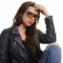 Ochelari de soare, dama, Victoria's Secret, VS0011 0001G, Negru