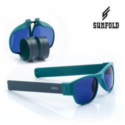 Ochelari de soare pliabili unisex SunFold, AC4, Verde