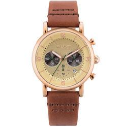 Ceas cronograf barbatesc, Gant, GTAD0071399I, Auriu Roze
