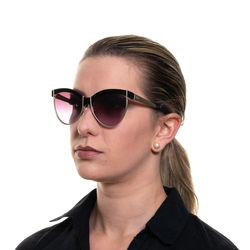 Ochelari de soare, dama, Emilio Pucci, EP0057 5701T, Negru