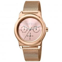 Ceas de dama, Esprit, ES1L077M0065, Auriu roze