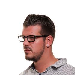 Rame ochelari, barbati, Diesel, DL5196 54001, Negru