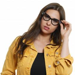 Rame ochelari, dama, Dsquared2, RBS DQ5290 53001, Negru
