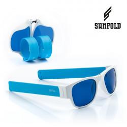 Ochelari de soare pliabili unisex SunFold, AC2, Alb