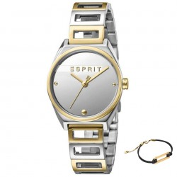 Set ceas si bratara de dama, Esprit, ES1L058M0045, Argintiu