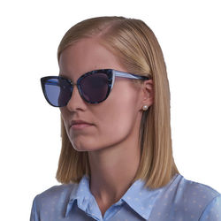 Ochelari de soare, dama, Guess by Marciano, GM0783 5589C, Albastru
