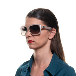 Ochelari de soare, dama, Montblanc, MB466S 5974F, Crem