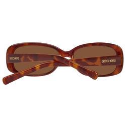 Ochelari de soare, dama, Skechers, SE7043 56K17, Maro