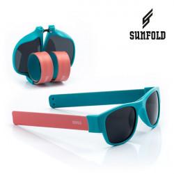 Ochelari de soare pliabili unisex SunFold, AC1, Albastru