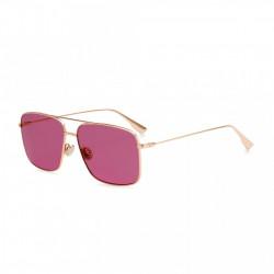 Ochelari de soare, dama, Christian Dior, STELLAIREO3S_DDB57U1, Auriu roze