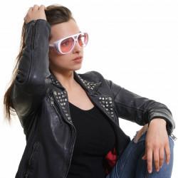 Ochelari de soare, dama, Victoria's Secret, PK0013 5925T, Alb