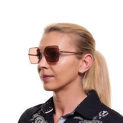 Ochelari de soare, dama, Web, WE0210 5733E, Auriu